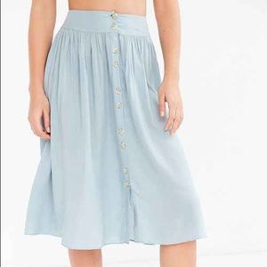 Ecoté Midi Skirt from Urban Outfitters